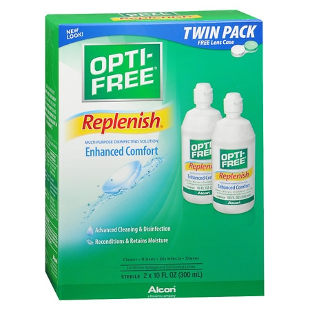 Opti-Free RepleniSH Multi-Purpose Disinfection Solution Value Pack