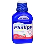 Phillips Milk of Magnesia Saline Laxative Liquid Wild Cherry