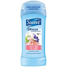 Invisible Solid Anti-Perspirant & Deodorant, Sweet Pea & Violet