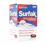 Kaopectate Surfak Stool Softener Liqui-Gels