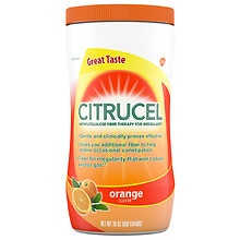 Citrucel Methylcellulose Fiber Therapy Dietary Supplement Powder