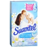 Suavitel Fabric Conditioner Sheets Field Flowers