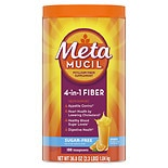 Metamucil Sugar Free MultiHealth Fiber Daily Supplement Powder Sugar Free Orange Smooth