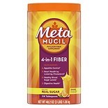 Metamucil MultiHealth Fiber Daily Supplement Powder Orange Smooth