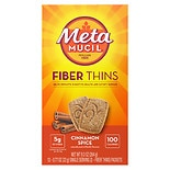 Metamucil Fiber Wafers Cinnamon Spice