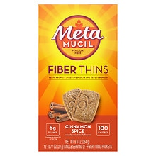 Fiber Wafers Cinnamon Spice