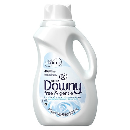Downy Ultra Concentrated Fabric Softener, 40 Loads Free & Sensitive