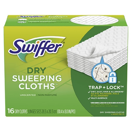 Swiffer Sweeper Dry Sweeping Refills Unscented