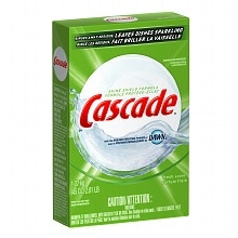 Cascade Dishwasher Detergent Powder with the Grease Fighting Power of Dawn Fresh Scent