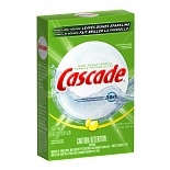 Cascade Dishwasher Detergent with Dawn, Powder Lemon Scent