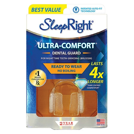 SleepRight NO-BOIL Dental Guard