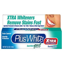 Plus White Xtra Whitening Toothpaste Gel Cool Mint