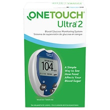 OneTouch Ultra 2 Ultra2 Blood Glucose Monitoring System