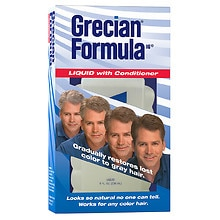 Grecian Formula 16 Formula 16 Hair Color Liquid with Conditioner
