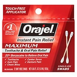 Orajel Medicated Toothache Swabs