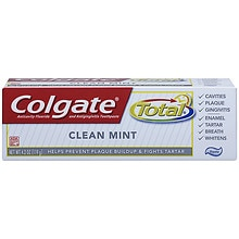Colgate Total Anticavity Fluoride and Antigingivitis Toothpaste Clean Mint