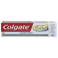 Colgate Total Total Anticavity Fluoride and Antigingivitis Toothpaste Clean Mint