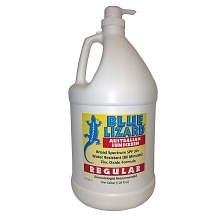 Blue Lizard Australian Sunscreen Regular Gallon with Pump