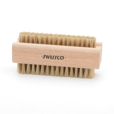 Swissco Wooden Natural Bristle Nail Brush