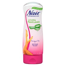 Nair Hair Remover Lotion for Legs & Body Aloe & Lanolin