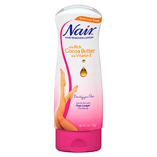 Nair Hair Remover Lotion with Cocoa Butter & Vitamin E Cocoa Butter & Vitamin E