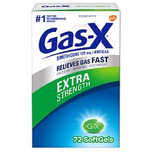 Gas-X Extra Strength Antigas Softgels Extra Strength