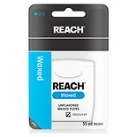 Reach Waxed Dental Floss Unflavored