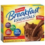 Carnation Breakfast Essentials Instant Breakfast Essentials Complete Nutritional Drink Mix Dark Chocolate