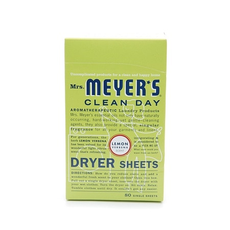Mrs. Meyer's Clean Day Dryer Sheets Lemon Verbena