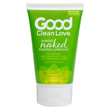 Good Clean Love All Natural Personal Lubricant Almost Naked