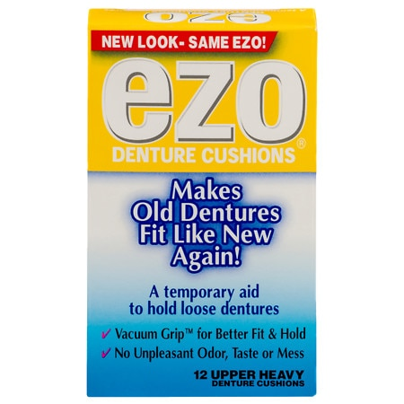 Ezo Upper Denture Cushions, Heavy