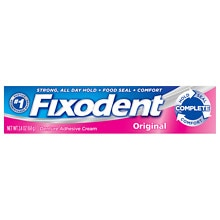 Fixodent Denture Adhesive Cream Original