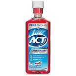 ACT Alcohol Free Anticavity Fluoride Mouthwash Cinnamon