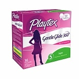 Playtex Gentle Glide Tampons, Fresh Scent Super, 36 ea