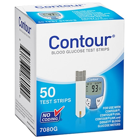 CONTOUR Blood Glucose Test Strips - 50 ea
