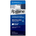 Men's Rogaine Extra Strength 5% Minoxidil Topical Foam Hair Regrowth Treatment1 month supply, 2.11 oz 1 month supply, 2.11 oz