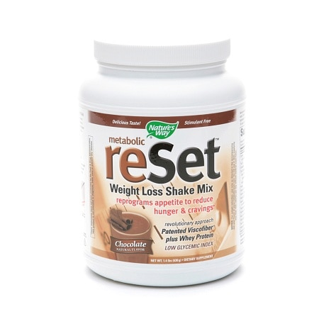Nature's Way Metabolic Reset Weight Loss Shake Mix Chocolate