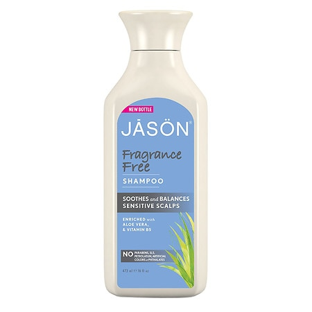 JASON Fragrance Free Shampoo for Sensitive Scalps