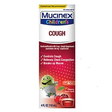 Children's Cough Liquid Cherry