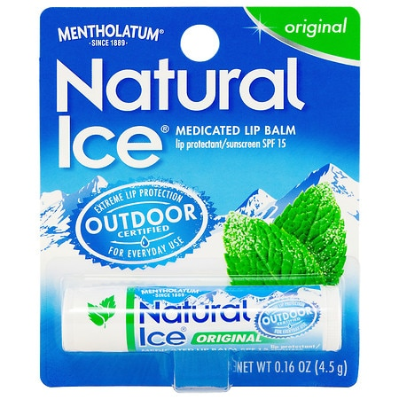 Natural Ice Medicated Lip Protectant/Sunscreen SPF 15 Original
