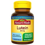 Lutein 20 mg Dietary Supplement Liquid Softgels