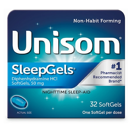 Unisom Nighttime Sleep-Aid Sleepgels