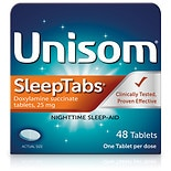 Unisom Nighttime Sleep-Aid SleepTabs Tablets