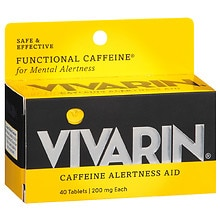 Caffeine Alertness Aid Tablets