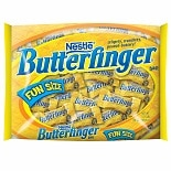 Butterfinger Fun Size Bag