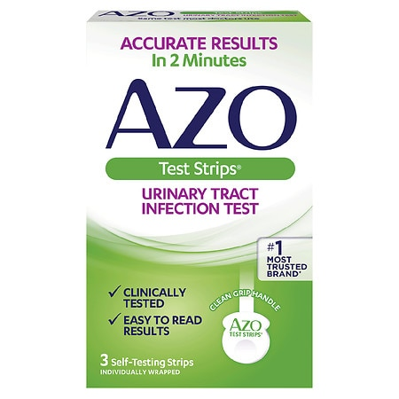 AZO Test Strips for Urinary Tract Infection
