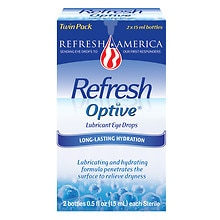 Optive Lubricant Eye Drops 2 Pack