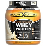 Body Fortress Super Advanced Whey Protein Supplement Powder Vanilla