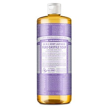 Dr. Bronner's Magic Soaps 18-in-1 Hemp Pure-Castile Soap Lavender