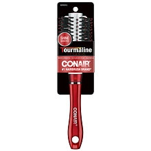 Tourmaline Ceramic Hair BrushMedium, Red